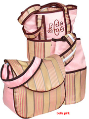 hoohobbers personalized diaper bag