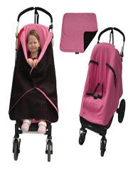 napwell toddler feet free stroller blanket set